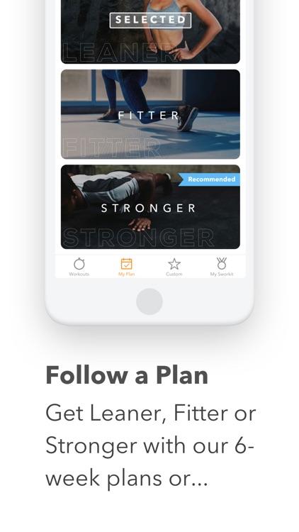 Sworkit Fitness & Workout App screenshot-8