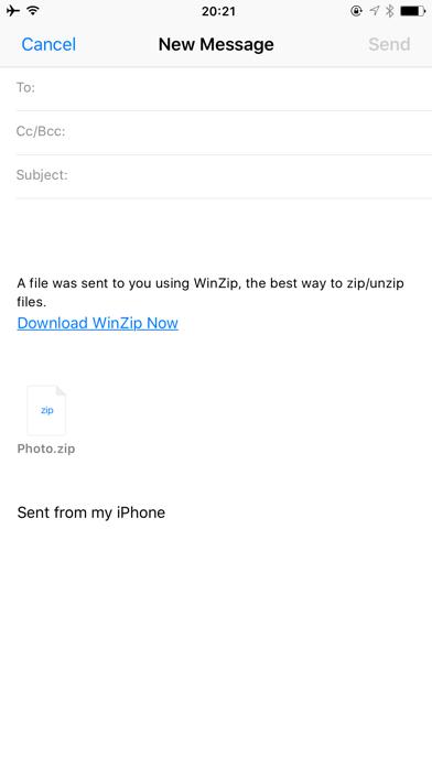 WinZip Pro: zip, unzip & rar IPA Cracked for iOS Free Download