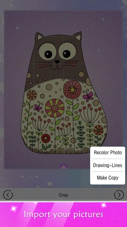 Princess Coloring Book Show screenshot-4