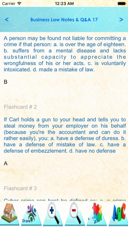 Business Law: 1200 study notes screenshot-4