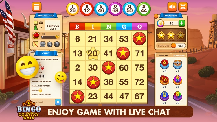 Bingo Country Ways -Bingo Live screenshot-3