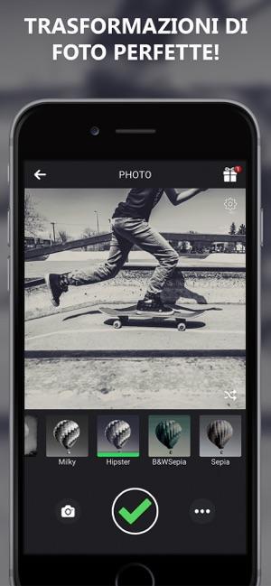 Fotocamera In Bianco E Nero Su App Store