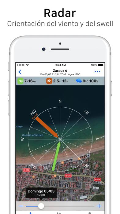 Screenshot for Wisuki - Viento y Olas in Peru App Store