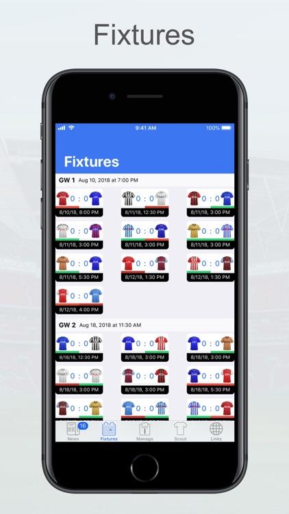 Fantasy Football Manager, Lite screenshot-5