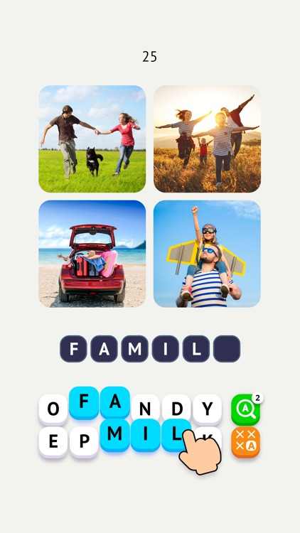 Word Travel: Pics 4 Word screenshot-0