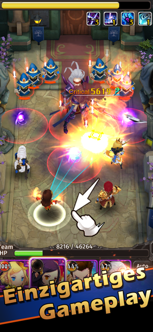 ‎Hyper Heroes: Marble-Like RPG Screenshot