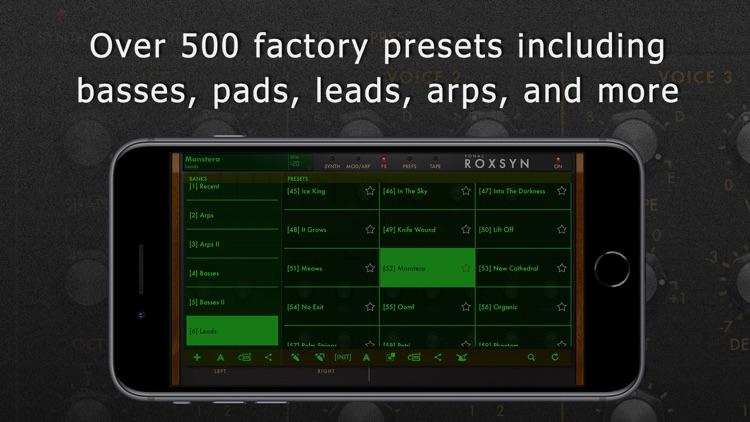 Roxsyn Guitar Synthesizer screenshot-7