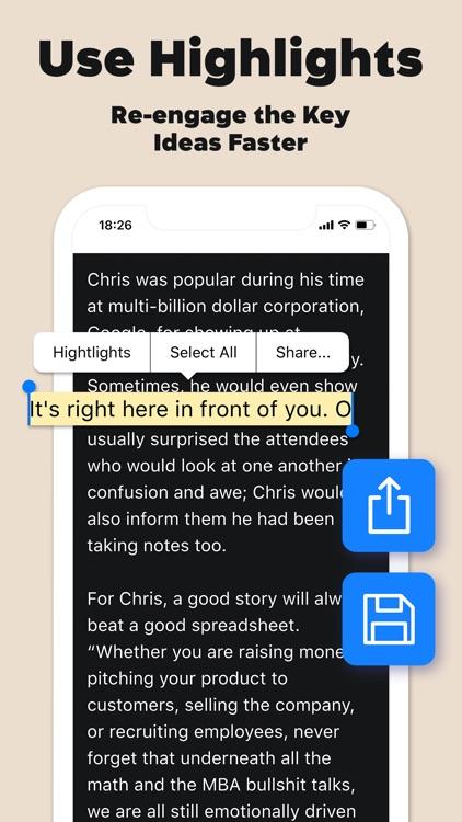 Goodbook - Books Key Insights screenshot-5