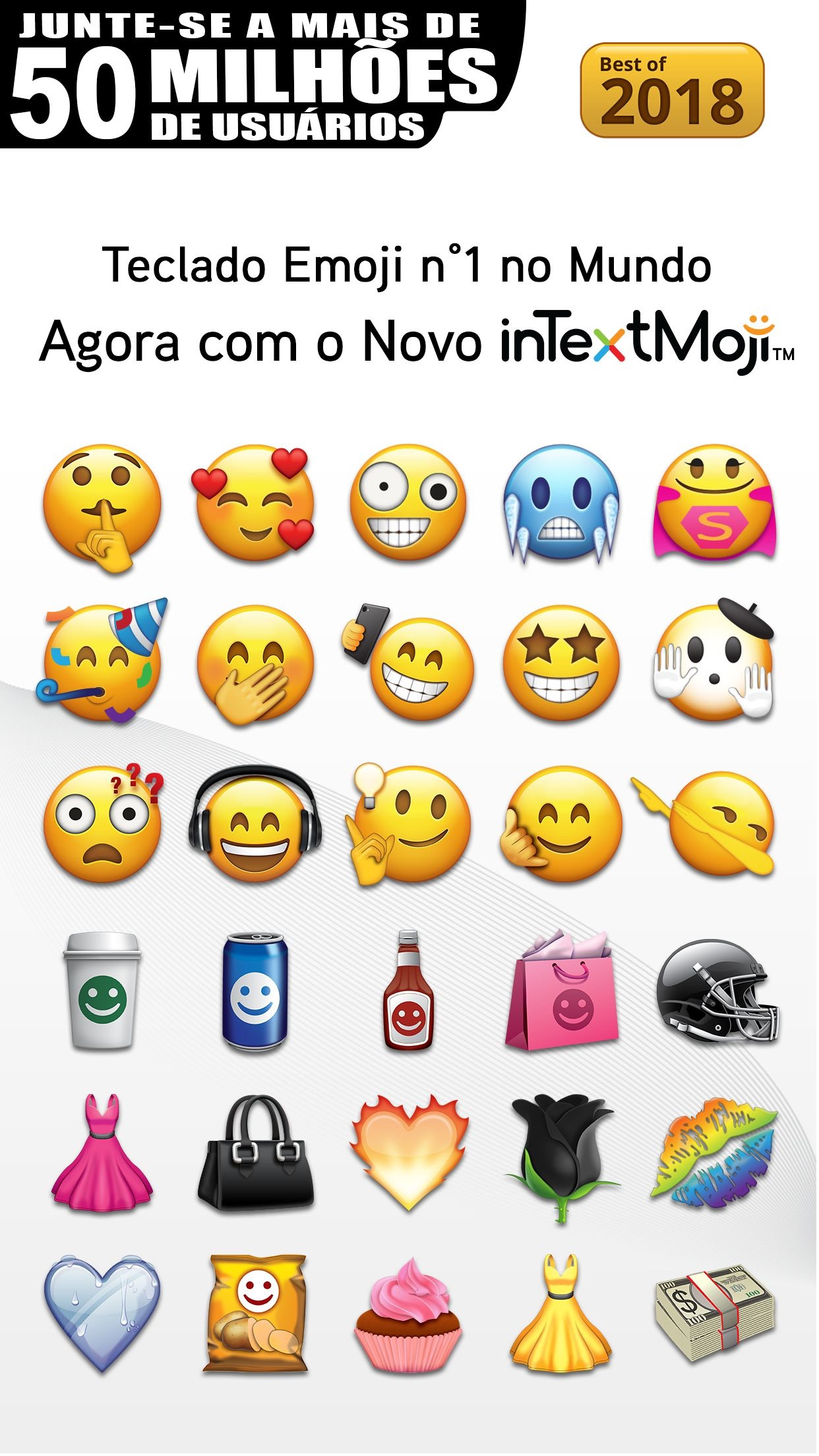 Screenshot do app Emoji>