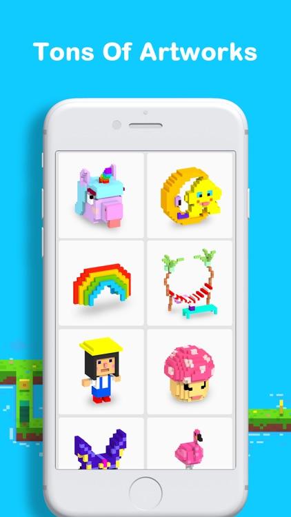 Voxel - 3D Color by Number screenshot-4