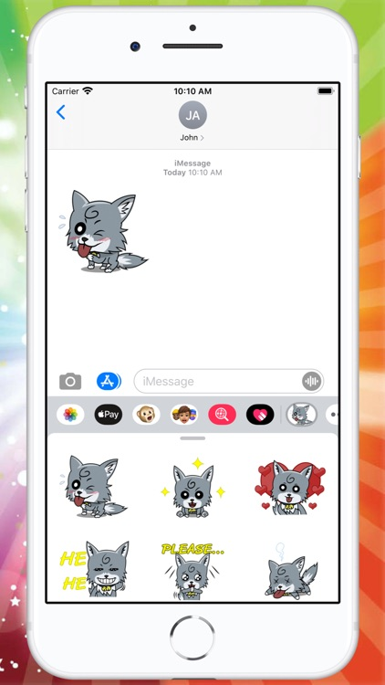 Little Fox Sticker screenshot-3