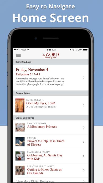 The Word Among Us Mass Edition Screenshot