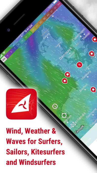 Windfinder - Wind & Weatherのおすすめ画像1