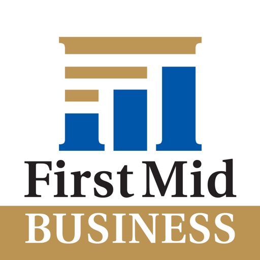 First Mid Business Mobile app logo