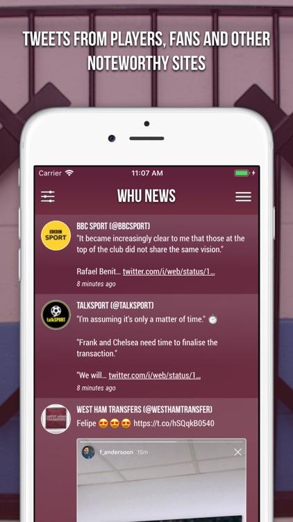 WHU News - Unofficial Fan App screenshot-4