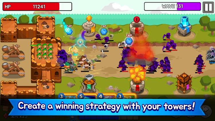 Grow Tower: Castle Defender TD screenshot-4