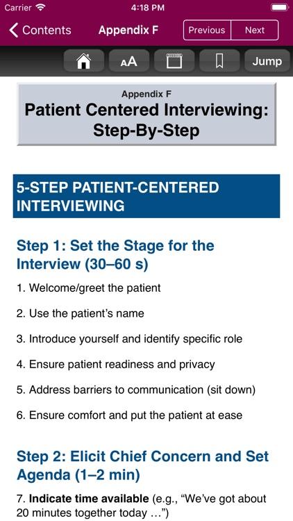 Smith's Patient Interview, 4/E screenshot-9