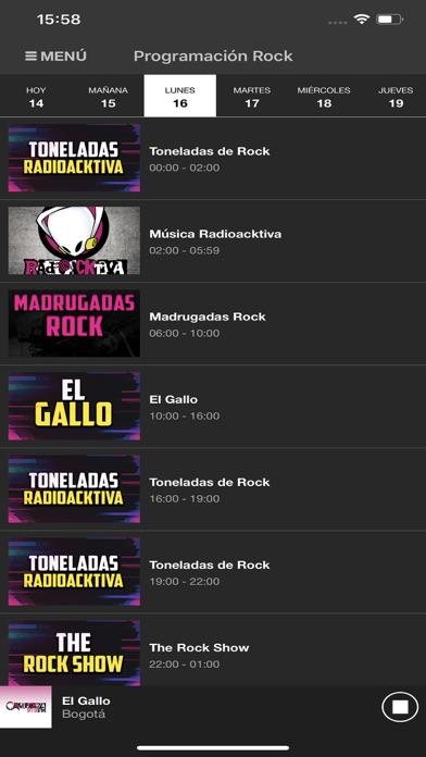 RadioacktivaCaptura de pantalla de4