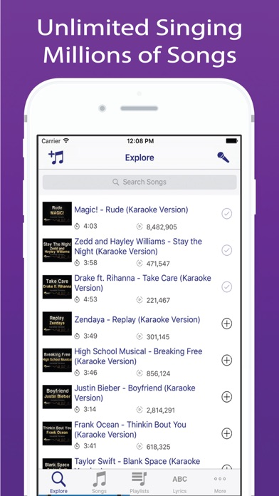 Sing Karaoke - Unlimited Songs by Michel Breton (iOS, United