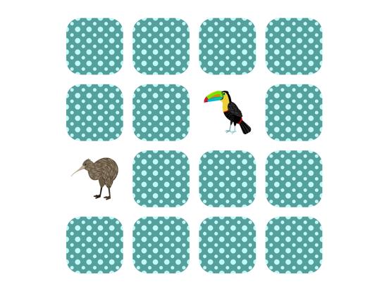 Животные Найди пару на iPad