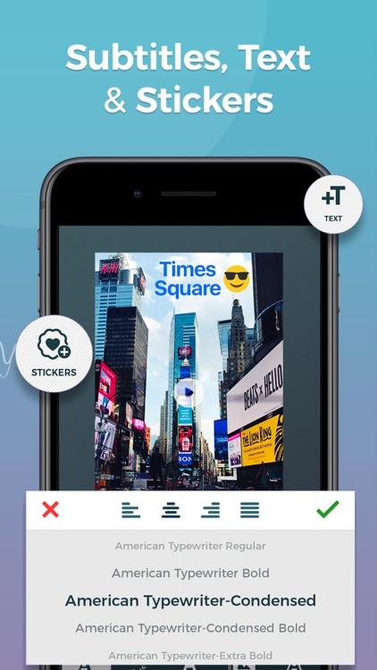 Video Editor App - zShot screenshot-3