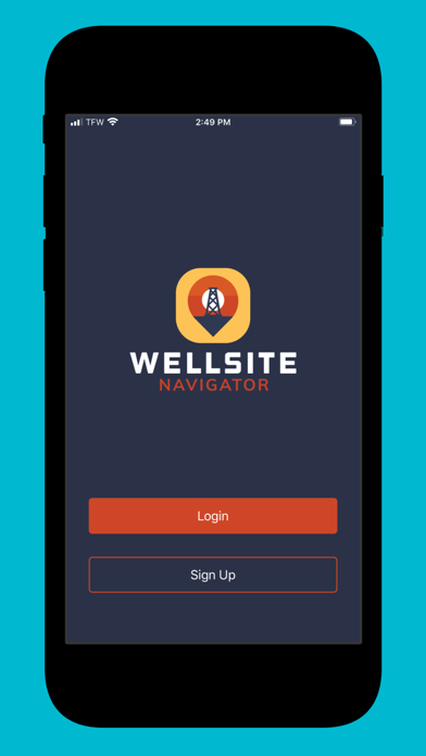 Wellsite Navigator Screenshot