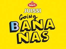 Juissi going Bananas Stickers