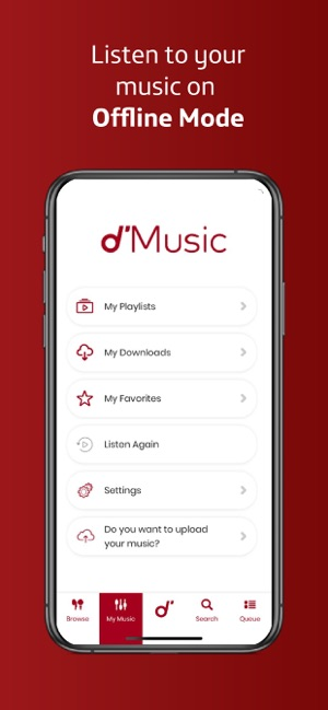 d'Music on the App Store