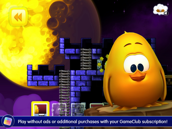Toki Tori - GameClub screenshot 10