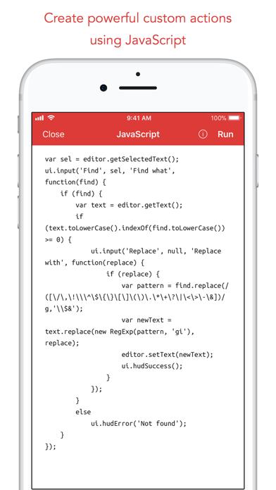 iTextEditors - iPhone and iPad text/code editors and writing