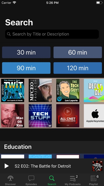 Pods - Podcast Player screenshot-3