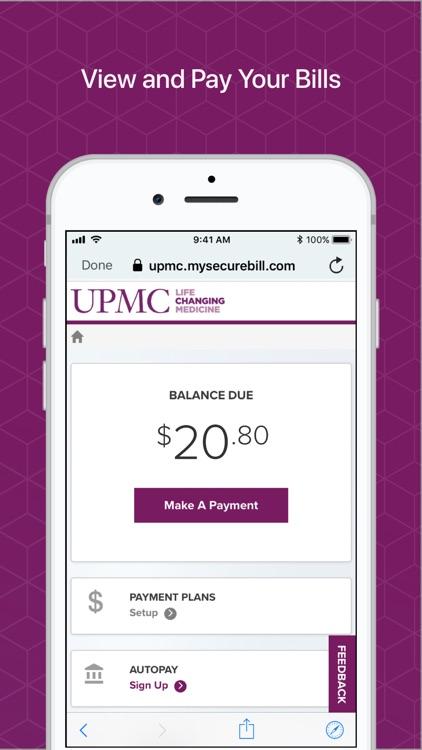 MyUPMC screenshot-9