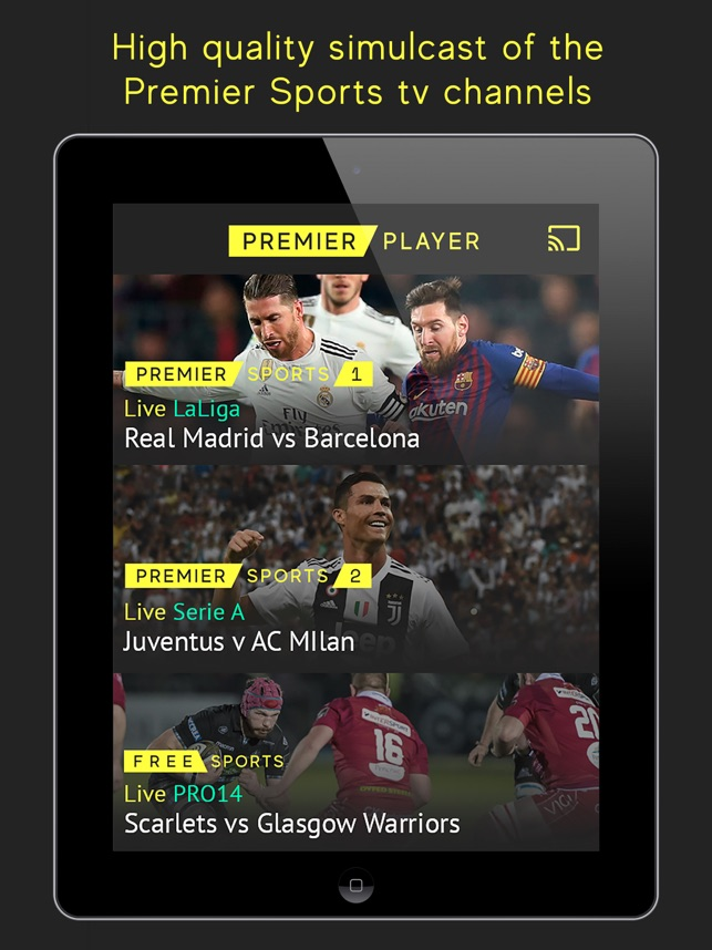 Premier Player on the App Store