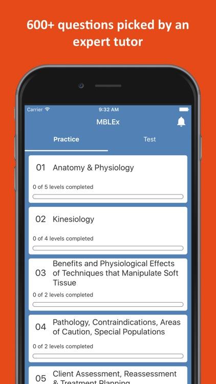 MBLEx® Massage Practice Test