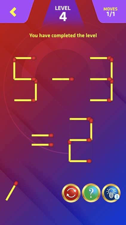 Matchstick Puzzle King Pop screenshot-4