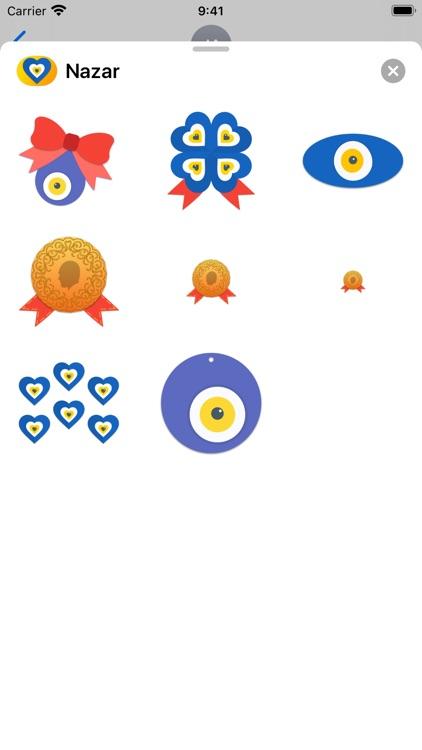 Nazar - Evil Eye Stickers