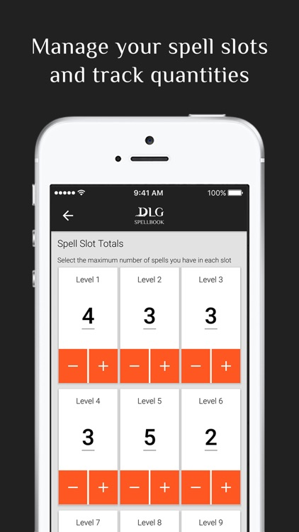 DLG Spellbook 5E for D&D screenshot-3
