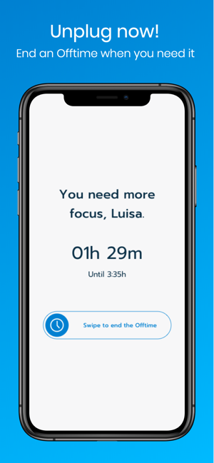 OFFTIME: Unplug and disconnect Screenshot