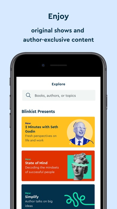Blinkist: 15min Book Insights Screenshot