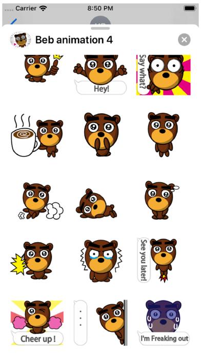 Beb Animation 4 Stickers Screenshot