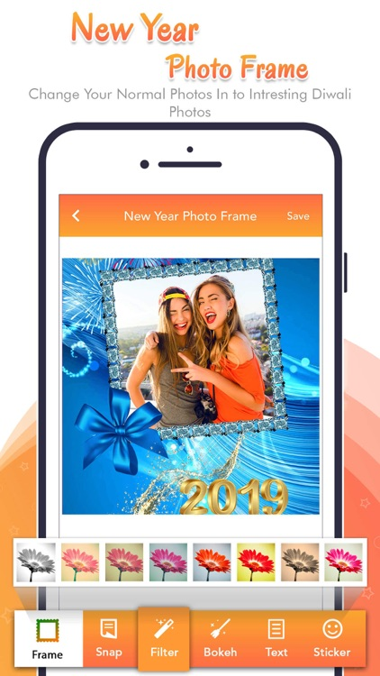 Happy New Year - Photo Frame screenshot-4