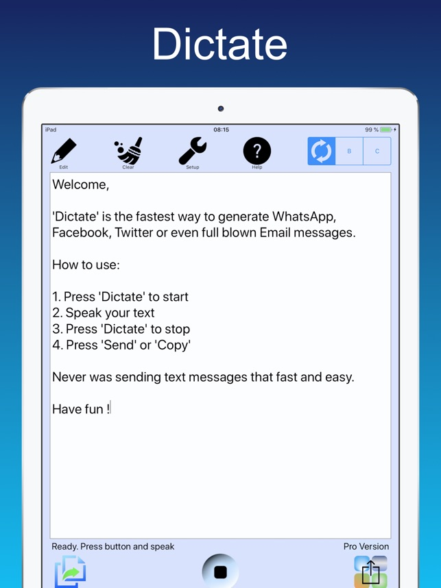 Dictate - Speech to text on the App Store