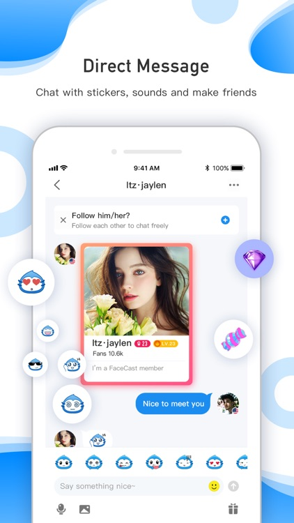FaceCast-Meet Amazing People screenshot-3