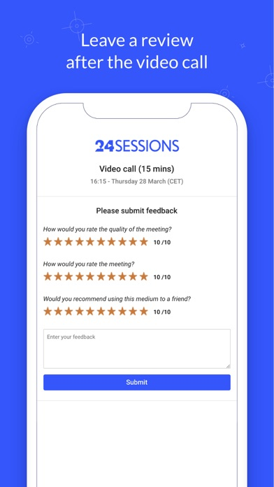 Video Calls from 24sessions screenshot four