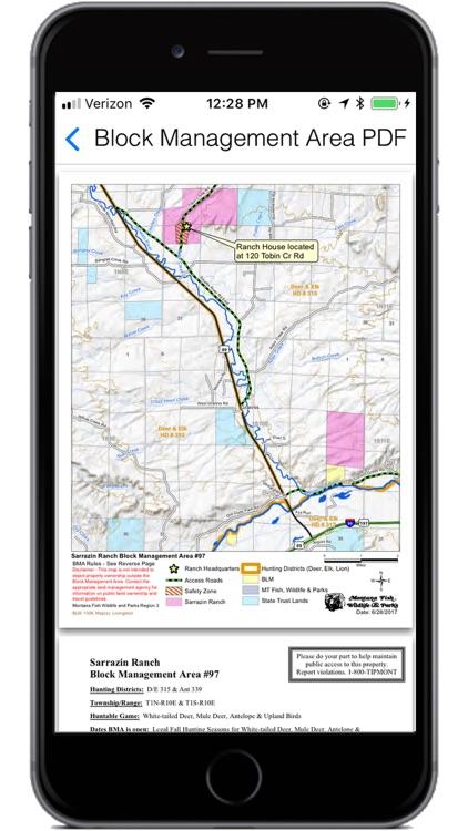 Montana Hunting Access 2019 screenshot-4