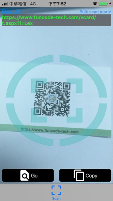 Logo QR Barcode Scanner screenshot one