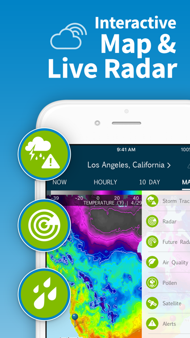 Weatherbug Elite review screenshots
