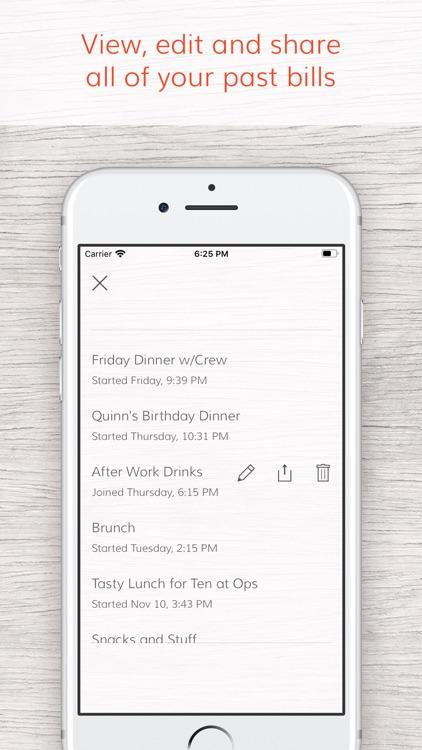 Tab - The simple bill splitter screenshot-6