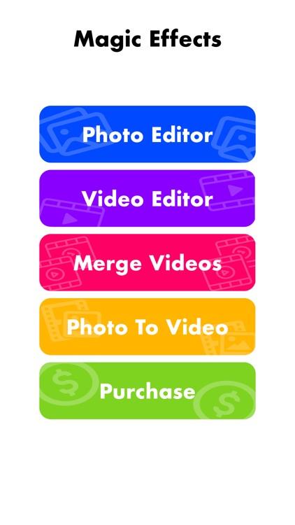 Magic Effects - Video Editor