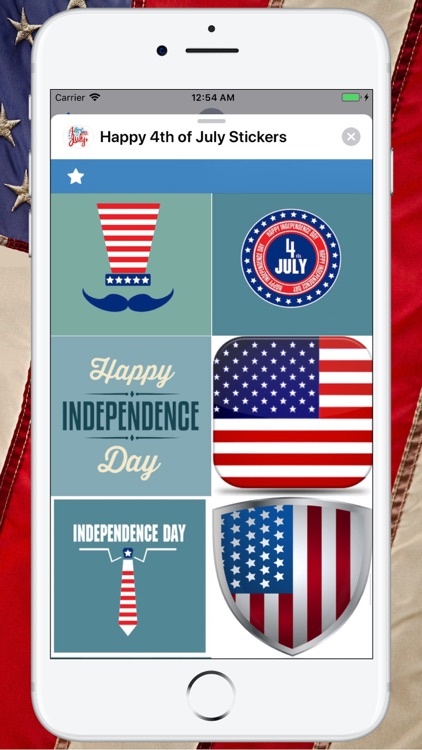 Happy 4th of July Stickers ! screenshot-5